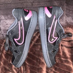 Nike Force black and Pink